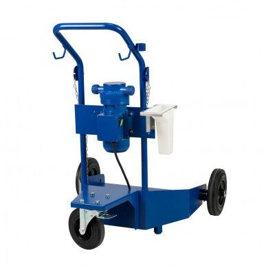 pressol kit pompa travaso urea/adblue 35l/min - con carrello (max 200l) 25 334 760