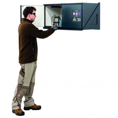 Asecos Armadio di sicurezza , S-CLASSIC-30, Mod. S30.045.097.WM 32467-911
