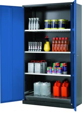 Asecos Armadio per sostanze chimiche CS-CLASSIC , Modello CS.195.105 30495-047-30508