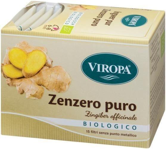 viropa tisana zenzero puro bio -