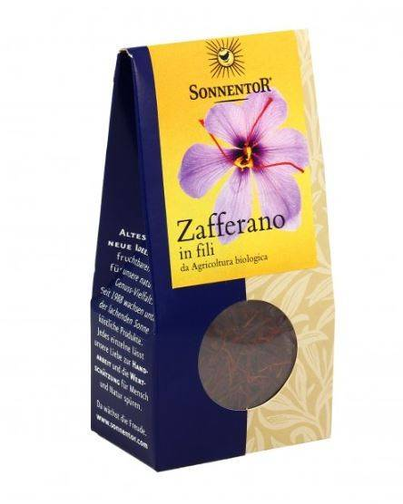Sonnentor Zafferano In Fili Bio -