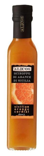 Alicos - Sapori Autentici di Sicilia Sciroppo di Arance di Sicilia