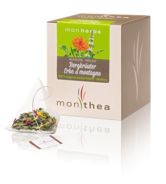 Monthea GmbH Tisana alle erbe di montagna BIO Monherbs - Monthea