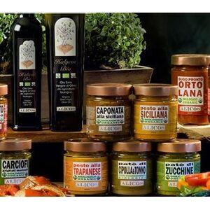 Alicos - Sapori Autentici di Sicilia Patè di cipolla e Tonno con ingredienti BIO
