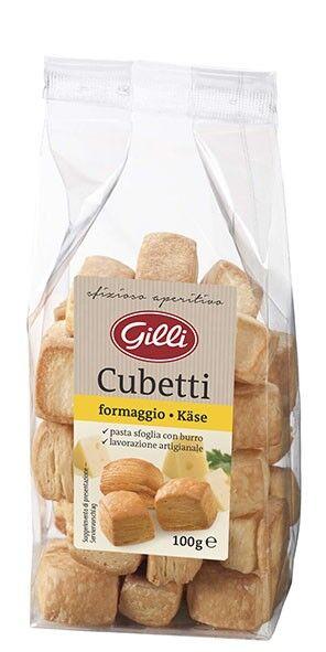 Gilli Cubetti al formaggio, 100g - Gilli