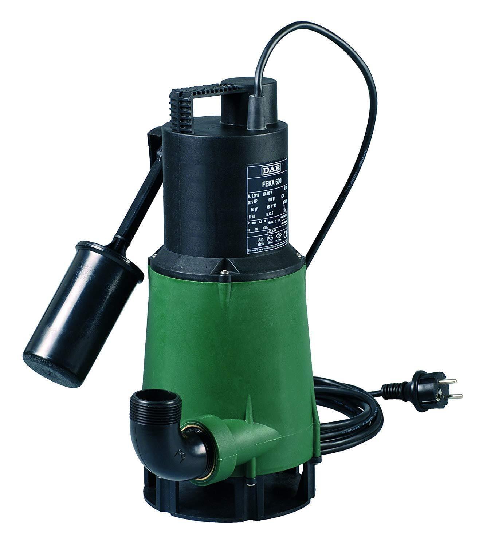 dab pumps spa pompa sommergibile con galleggiante per drenaggio acque reflue dab feka 600 m-a