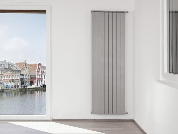 Global Termosifone radiatore alluminio bianco da 2 a 10 elementi OSCAR TONDO 2000 - 2 elementi