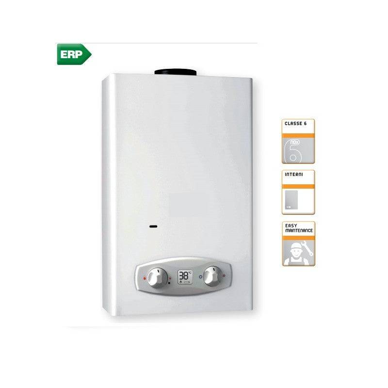 Ferroli Scaldabagno a gas Zefiro Eco 11 GPL camera aperta Low Nox 11 LT mod. 2020