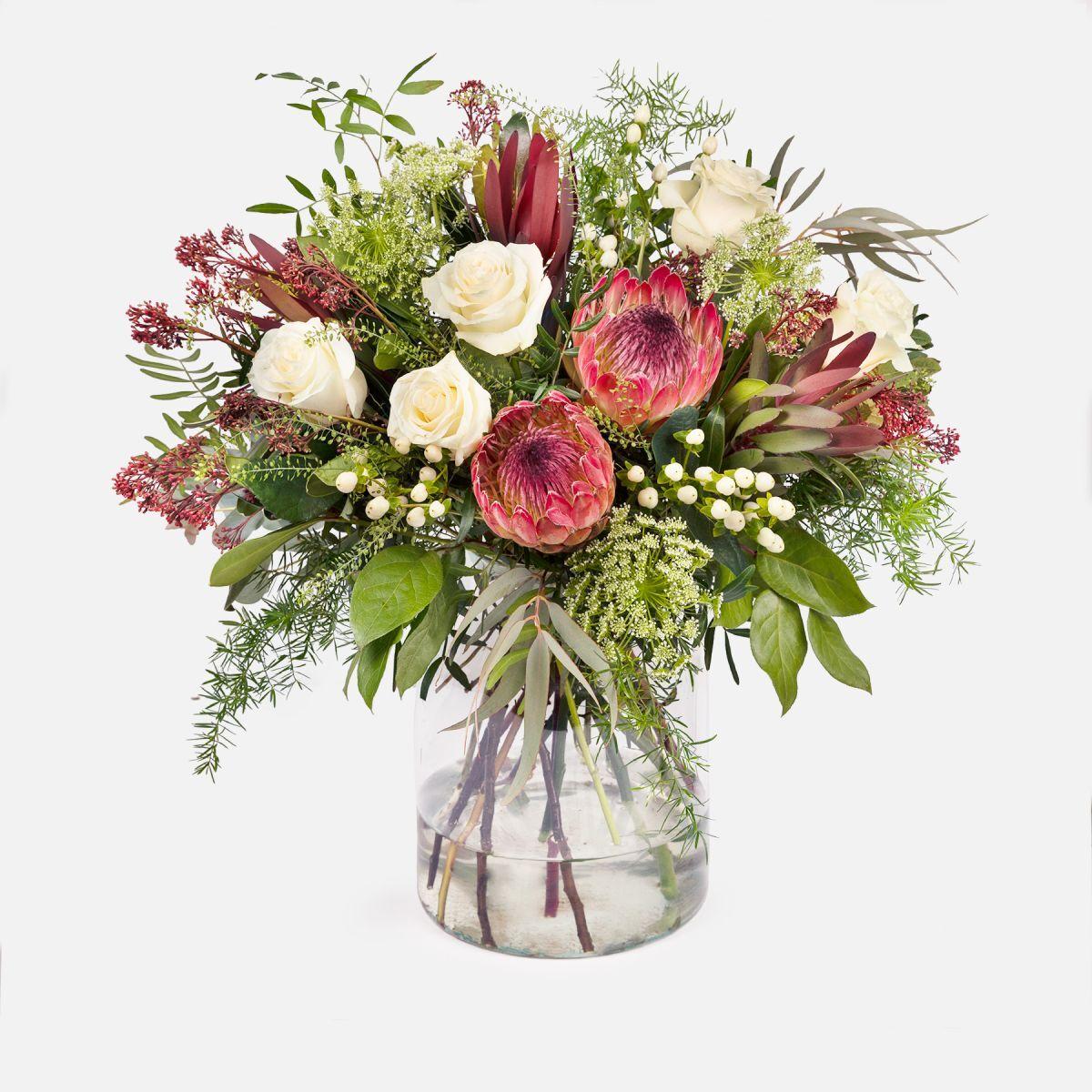 The Colvin Co Fiori a domicilio - Bouquet di fiori con protea - PROTEAGONIST - Colvin