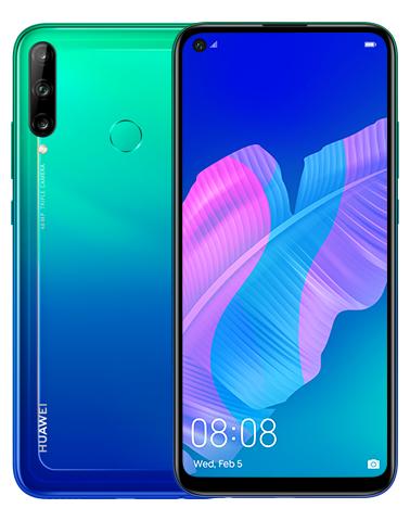 Huawei P40 Lite E Aurora Blue