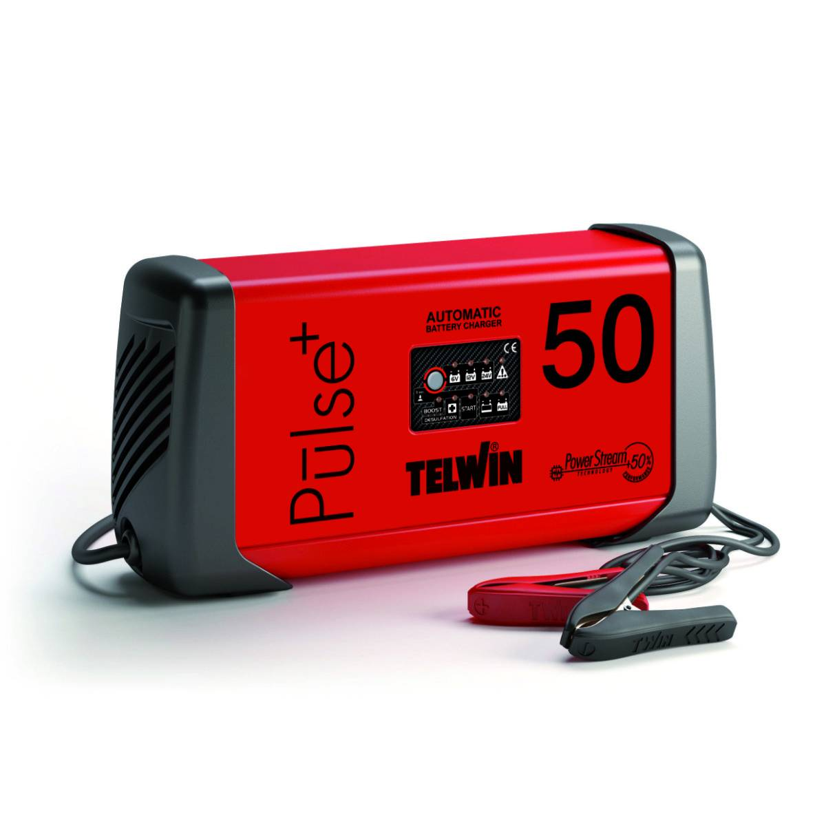 Telwin Caricabatterie multifunzione  PULSE 50 230V 6-12-24V