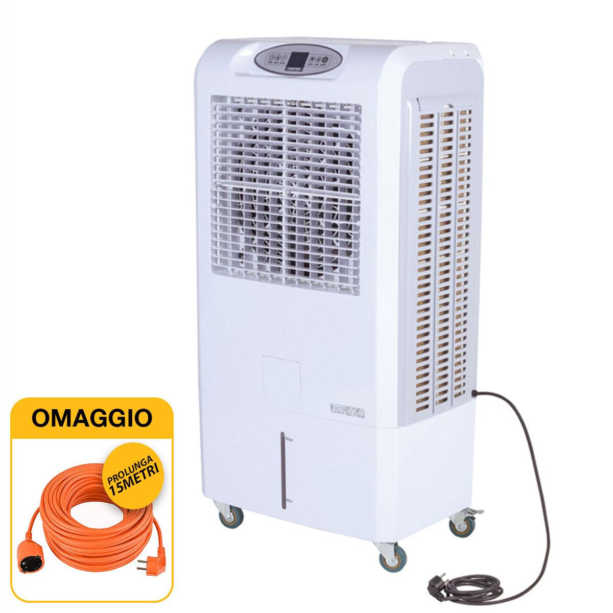 master raffrescatore evaporativo ventilatore portatile  ccx 4.0 con omaggio
