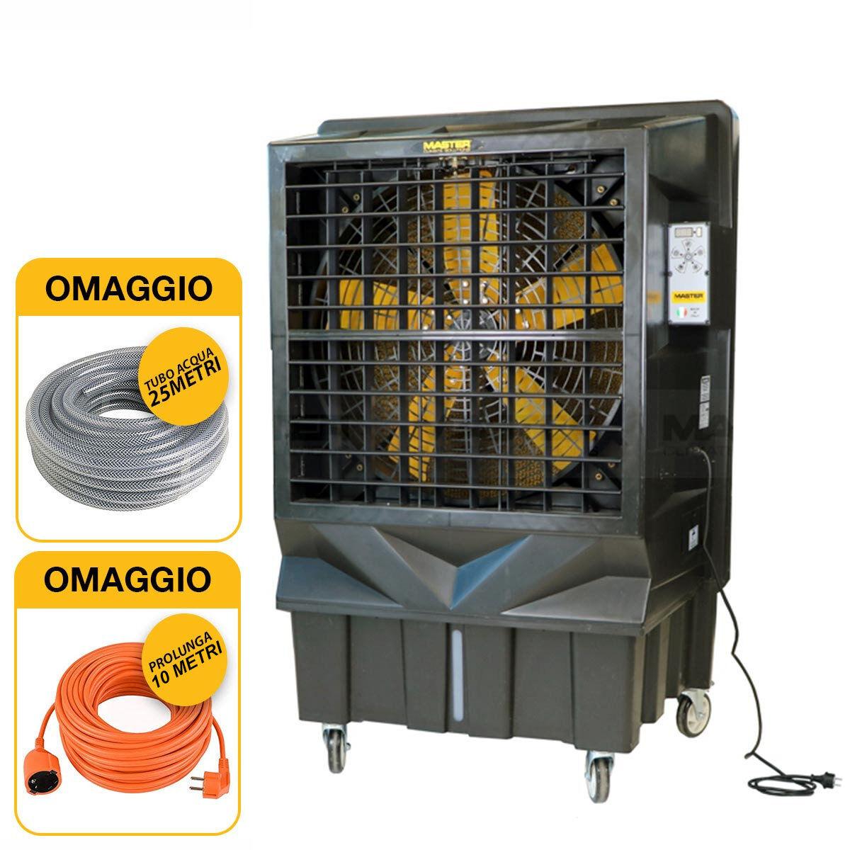master bc 220 - raffrescatore evaporativo ventilatore portatile professionale