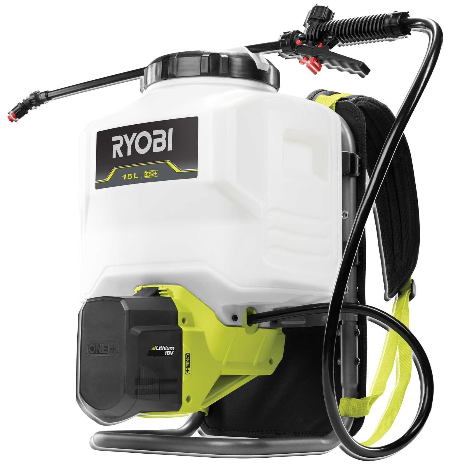 ryobi ry18bpsa-0 irroratore a pressione a zaino a batteria 18v one+ / solo corpo macchina