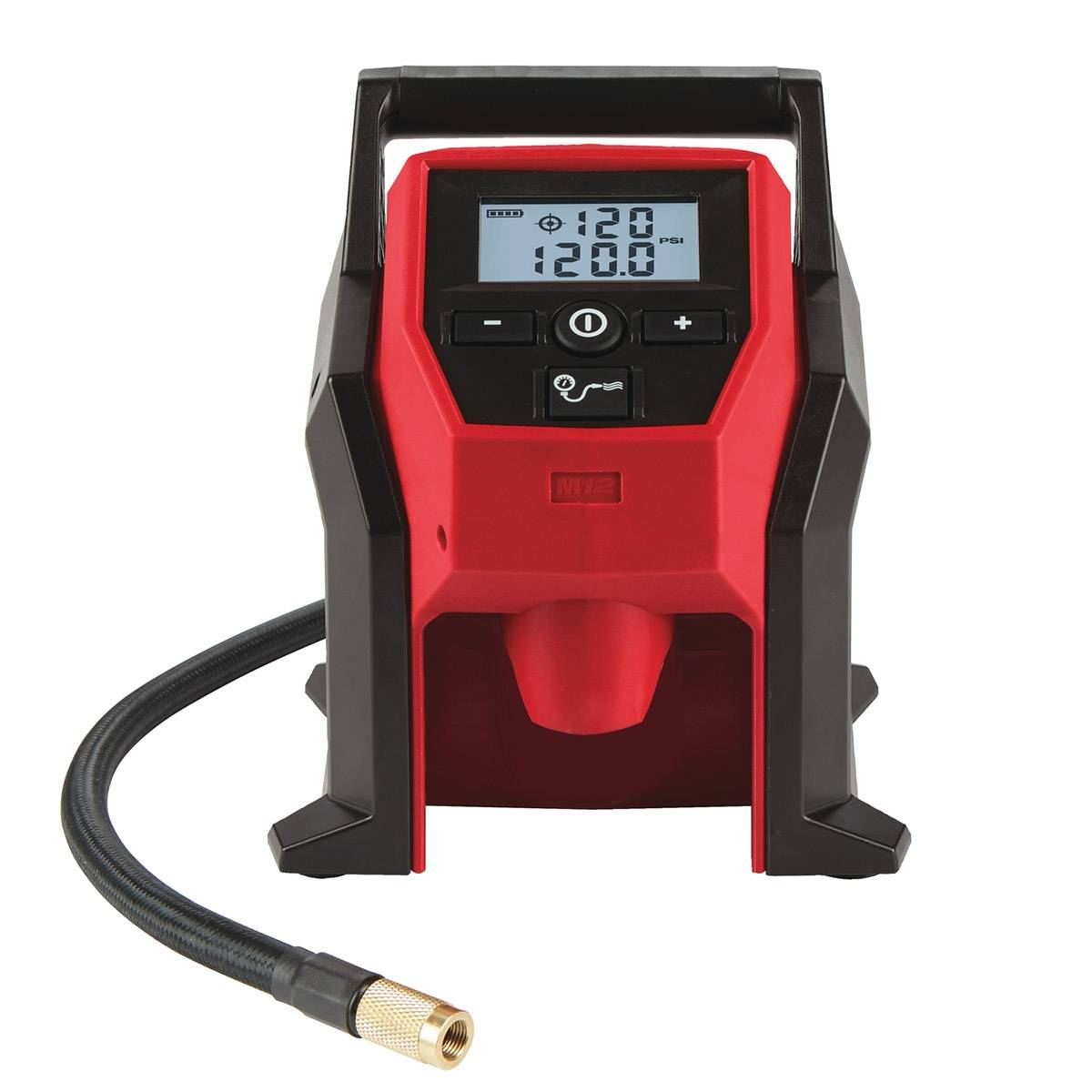 milwaukee compressore portatile a batteria 12v m12bi-0 per auto (solo corpo macchina)