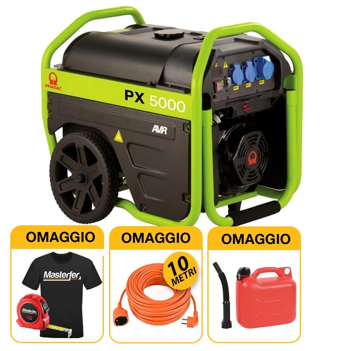 pramac px5000 - generatore di corrente professionale 3,6kw