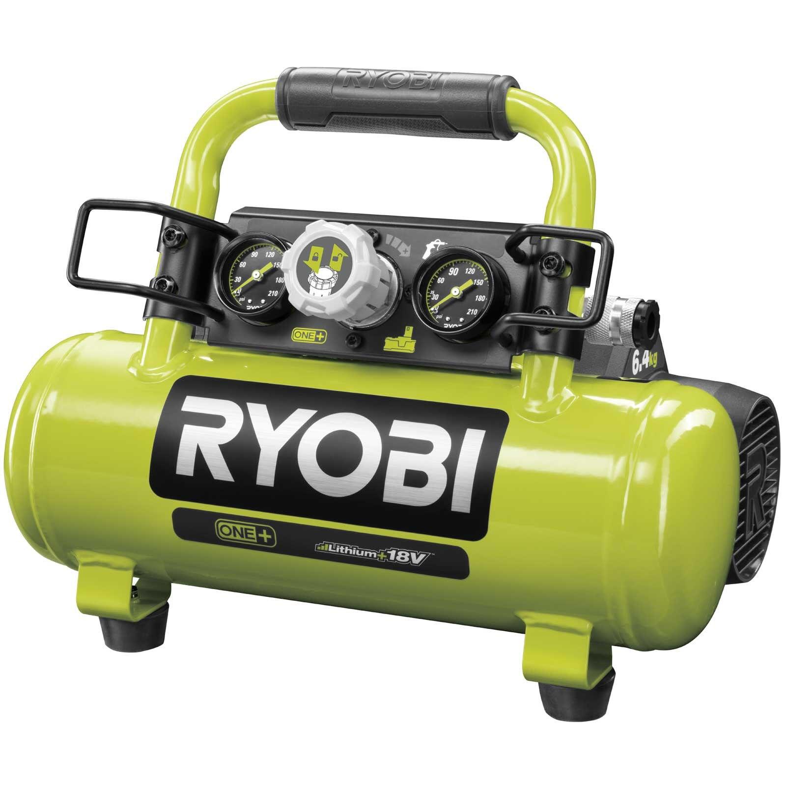 ryobi r18ac compressore aria batteria 18v (corpo)