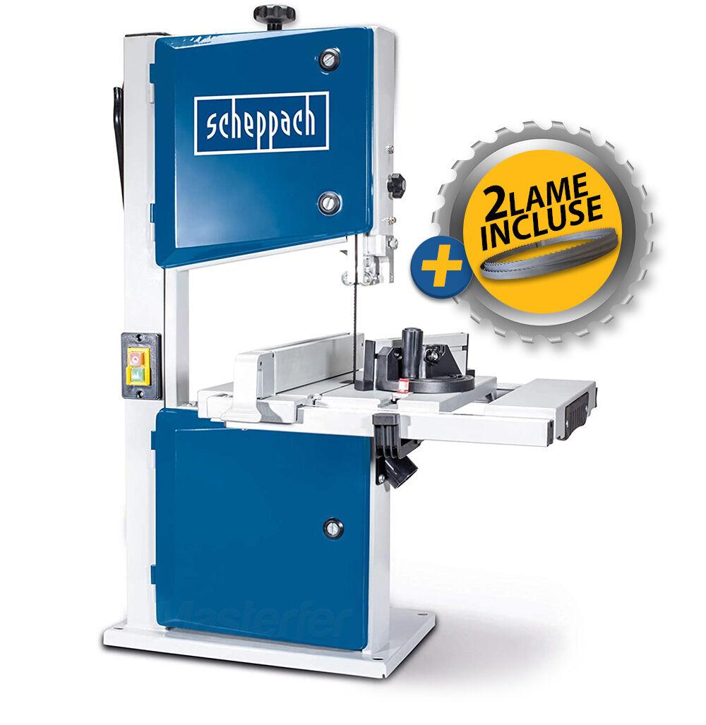 scheppach hbs261 - sega a nastro verticale per legno 245x120 500w