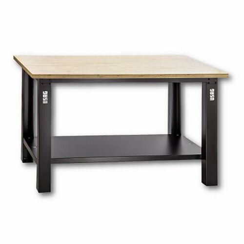 usag 506 a1 - banco da lavoro con piano in legno