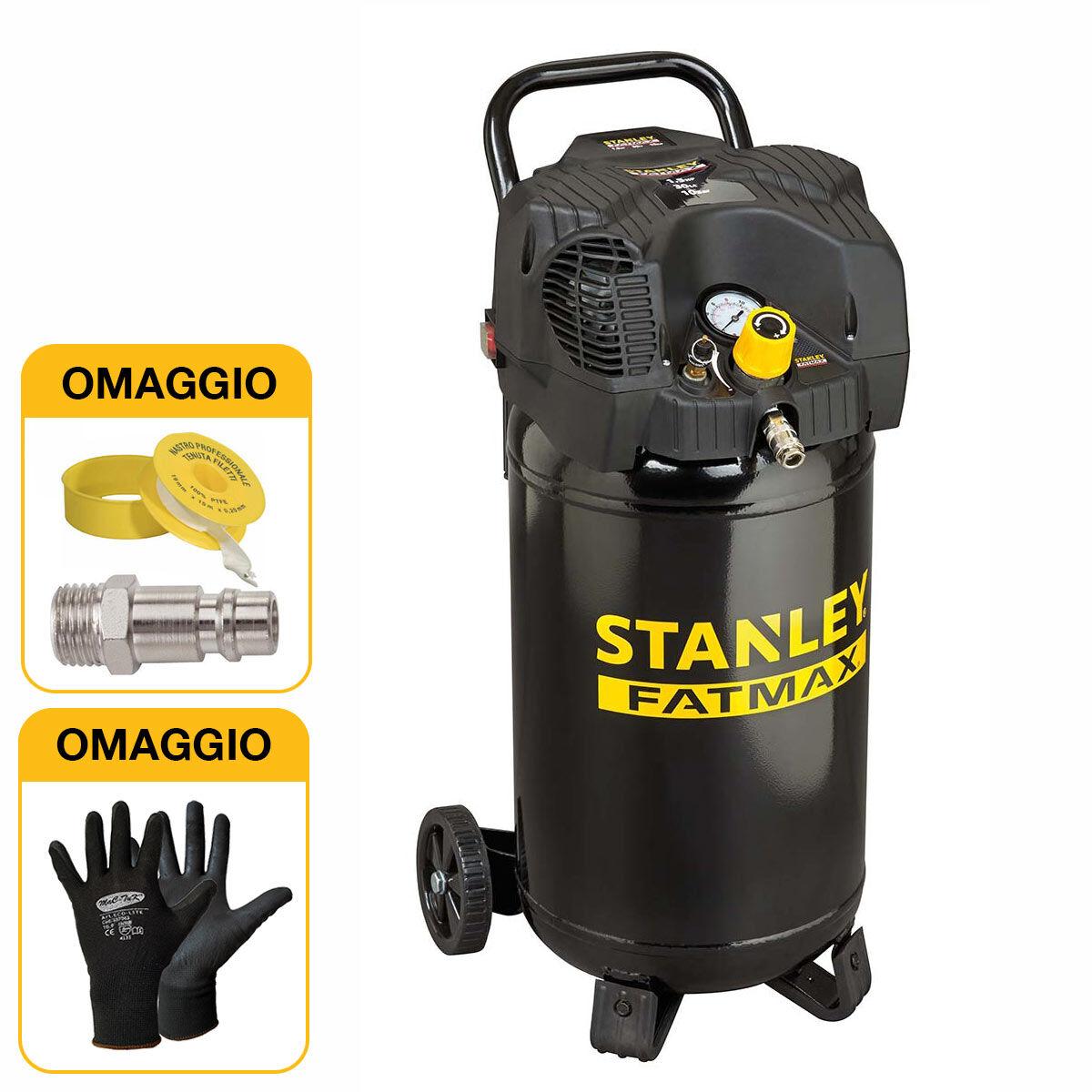 Stanley Compressore verticale oilless FatMax DN 200/10/30V, 30 litri