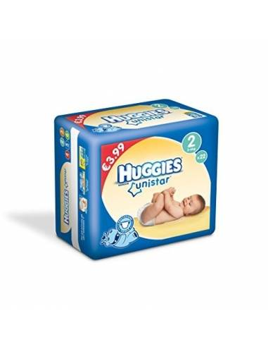 Huggies Unistar 2 3/6kg 22pz