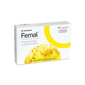 Shionogi Femal 30 Capsule Per I Disturbi Della Menopausa