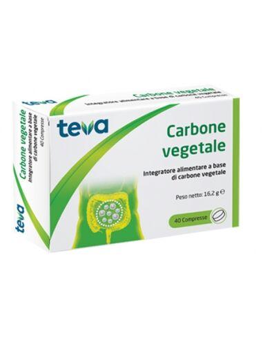 Carbone Vegetale 40cpr Teva