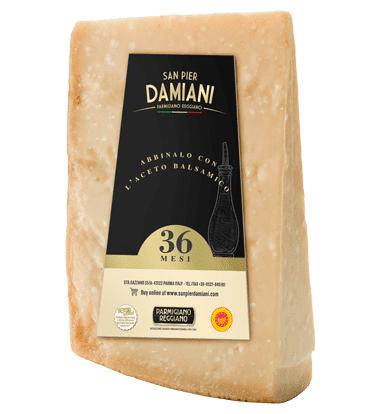 Consorzio Parmigiano Reggiano 36 mesi 1kg Caseificio San Pier Damiani