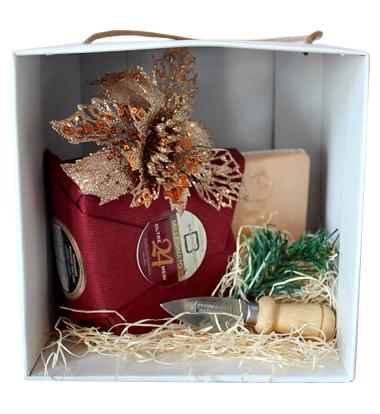 Consorzio Parmigiano Reggiano Scatola regalo Natale Parmigiano 24 Mesi Caseificio Bertinelli