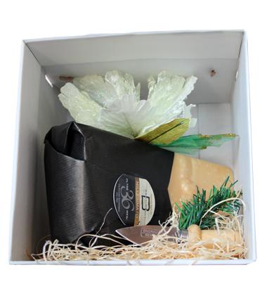 Consorzio Parmigiano Reggiano Scatola regalo Natale Parmigiano 36 Mesi Caseificio Bertinelli