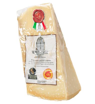 Consorzio Parmigiano Reggiano 36 mesi 1kg Caseificio Montecoppe