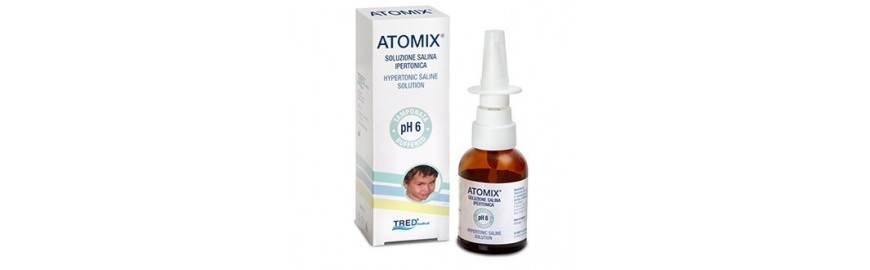 TRED Srl Tred Atomix Soluzione Salina Ipertonica Spray nasale 30 ml