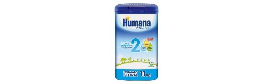 Humana 2 ProBalance latte in polvere per bambini dal sesto mese 1100 g