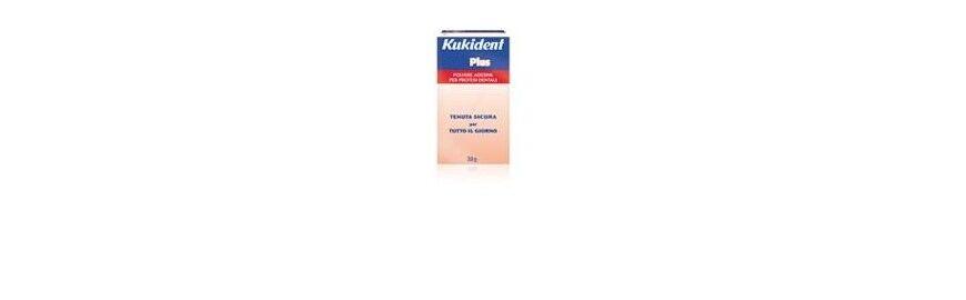 Procter & Gamble Kukident Plus Polvere Adesiva per Protesi Dentarie 30 g