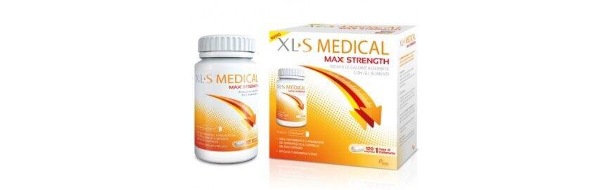 xls medical chefaro  max strenght 120 compresse integratore per dimagrire