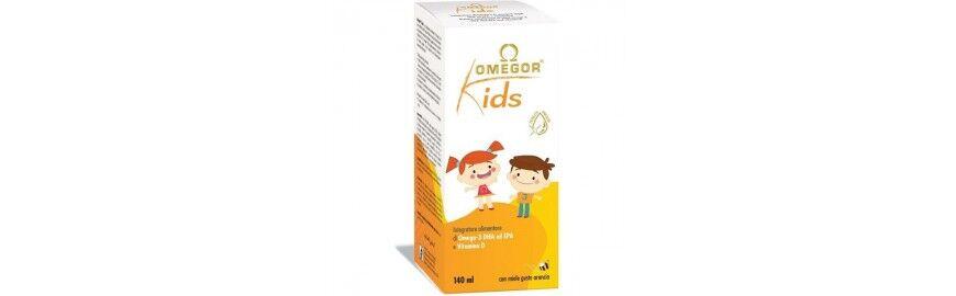 u. g. a. nutraceuticals u.g.a. nutriceuticals omegor kids 140 ml integratore per bambini