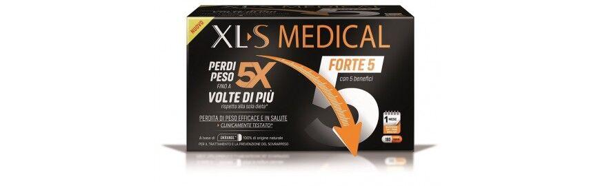 xls medical forte 5 integratore per la perdita di peso 180 capsule