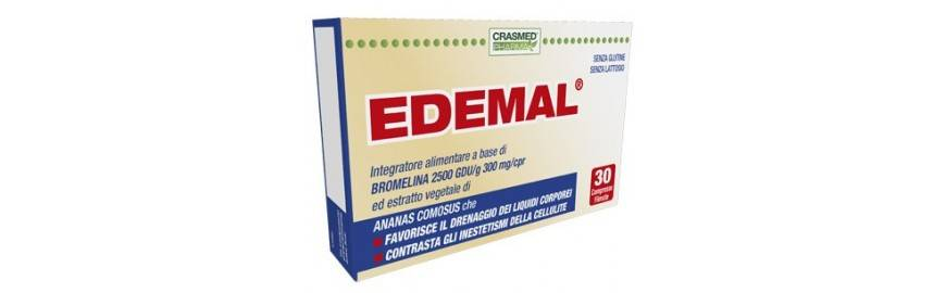 crasmed pharma srl crashmed pharma edemal integratore anticellulite 30 compresse