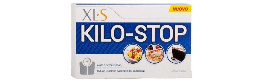 xls medical xls kilo-stop integratore per aiutare a perdere peso 28 compresse