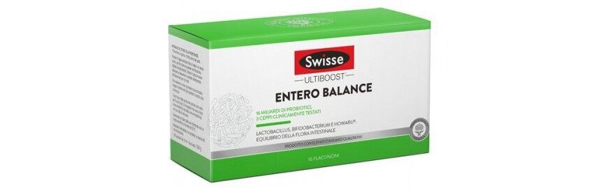 HEALTH AND HAPPINES (H&H) IT. Swisse Entero Balance liquido Integratore per flora batterica intestinale 10 flaconcini