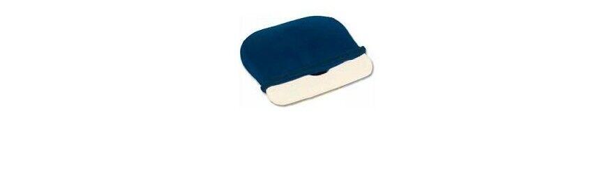 farmacare cuscino in poliuretano espanso con foro e fodera 1 pezzo