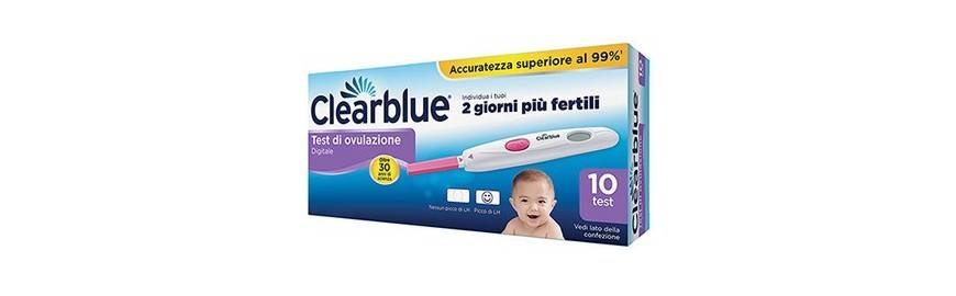 procter & gamble test ovulazione clearblue ovulation digital 10 stick