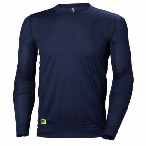 HH Workwear Helly Hansen Maglia Intima A Manica Lunga In Hh Lifa XL Navy