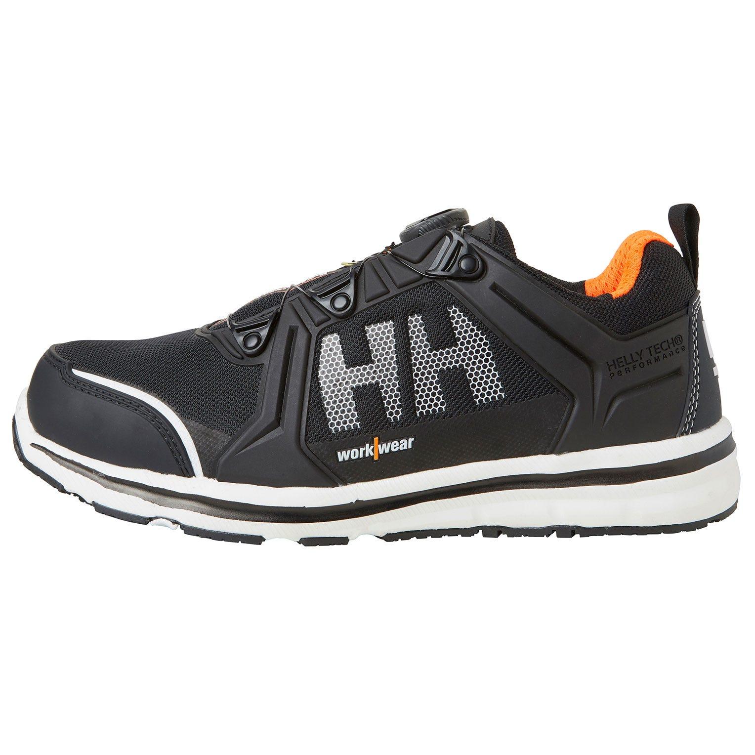 HH Workwear Workwear Helly Hansen Scarpa Antinfortunistica Oslo Certificata S3 Con Punta In Alluminio Allacciatura Boa 40