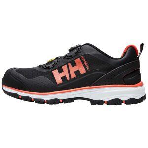 HH Workwear Helly Hansen Scarpa Antinfortunistica Certificata S1p Con Punta In Alluminio, Allacciatura Boa, Chelsea Evolution 45 Nero