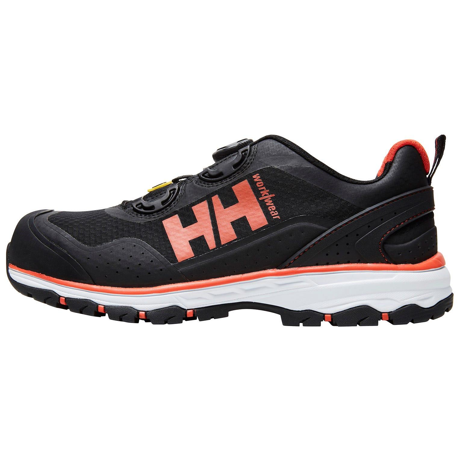 HH Workwear Workwear Helly Hansen Scarpa Antinfortunistica Certificata S1p Con Punta In Alluminio, Allacciatura Boa, Chelsea Evolution 38 Nero
