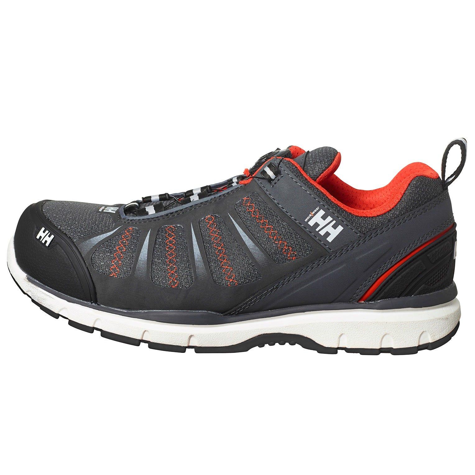 hh workwear workwear helly hansen scarpa antinfortunistica smestad certificata s3 con punta in materiale composito allacciatura boa 48 grigio