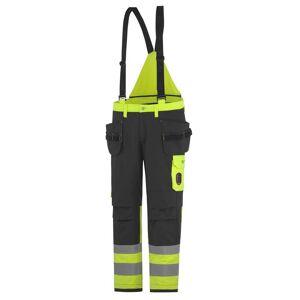 HH Workwear Helly Hansen Pantaloni Alta Visibilità Da Cantiere Aberdeen Cl 1 C60 Giallo