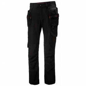 HH Workwear Helly Hansen W Luna Construction Pant Na 4/30 Nero