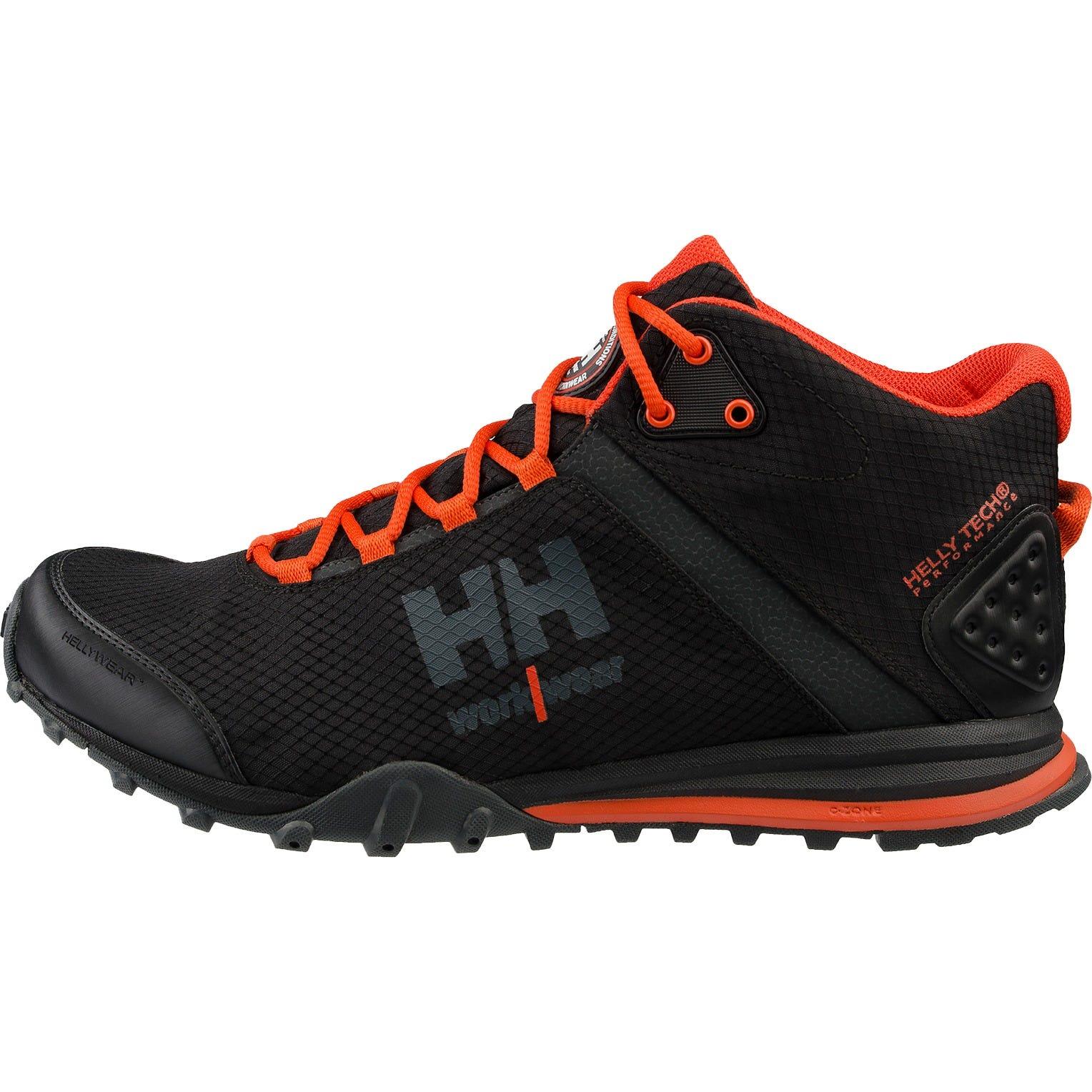 hh workwear workwear helly hansen scarpa mid impermeabile da running raborra trail 44 nero